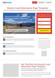 genericlandr our most selling wordpress landing page theme that is