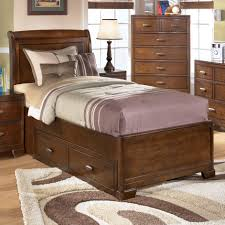 Ashley Greensburg Bedroom Set Signature Design By Ashley Alea Twin Bed With 2 Storage Drawers