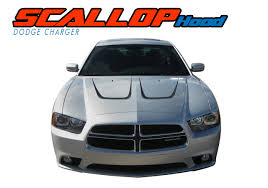 dodge charger graphics dodge charger scallop stripes graphic decal 2011 2014