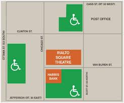 parking rialto square theatre