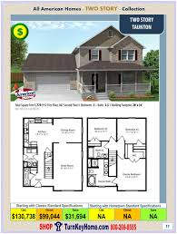 all american homes two story collection archives modular homes