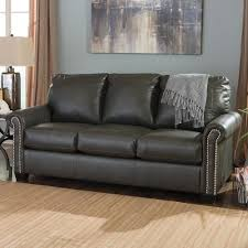 queen sleeper sofa with memory foam mattress signature design by ashley lottie durablend transitional bonded