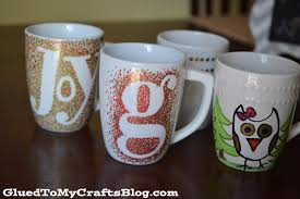 diy coffee mugs ideas to make the fanciful forrest with december