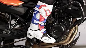 alpine star motocross boots alpinestars tech 10 boots 2014 review at revzilla com youtube