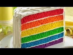 rainbow cake hervé cuisine s rainbow cake dessert