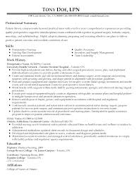 Resume For New Job by Resume For New Lpn Nurse Job Resume 33 Lpn Resume Objective Lpn