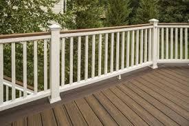 trex transcend composite deck railing trex