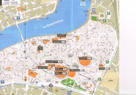 Provence Map Map Of Downtown Arles From Tourist Office U2014 The Join Us In France