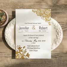 gold foil wedding invitations luxury wedding invitation card gold wedding invitation design