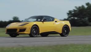 corvette grand sport takes on lotus evora 400 in friendly track