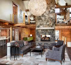 Log Cabin Living Room Designs Log Cabin Living Room Ideas Living Room Rustic With Glass Panel