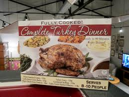 a costco thanksgiving feeding 8 for 80 plus the