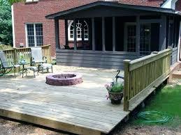 Firepit Pad Pit Pad Wood Deck Pits For Wood Decks Pit On Wood