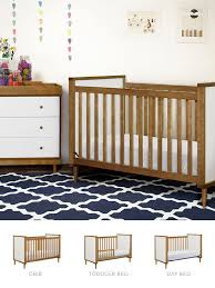 How To Convert Crib To Daybed The Babyletto Skip 3 In 1 Crib Easily Converts To A Toddler Bed