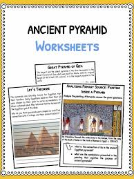ancient pyramids facts u0026 worksheets for kids pyramids around the