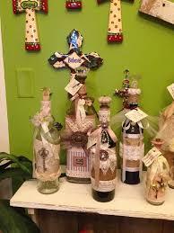 wine bottle bows 297 best wine bottles decorated images on wine bottle