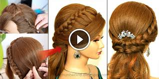 diy hairstyles in 5 minutes 5 minute diy how to create party wear hairstyle see tutorial