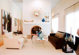 double sided fireplace transitional living room michelle