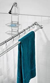 Dual Shower Curtain Hooks Best 25 Double Shower Curtain Ideas On Pinterest Tall Shower
