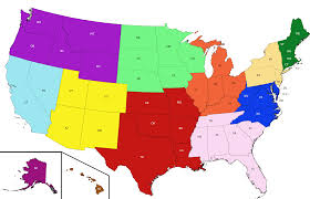 Ky Time Zone Map by Affiliate Associations