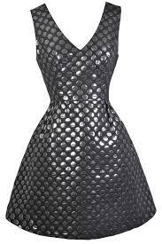 silver new years dresses black and silver polka dot dress polka dot party dress new