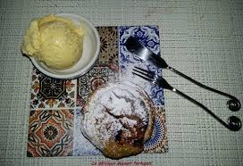dessert portugais cuisine le dessert portugais du chef photo de restaurant traditionnel la