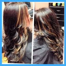 hair highlights bottom deep burgundy on top and black on bottom hair color pertaining to