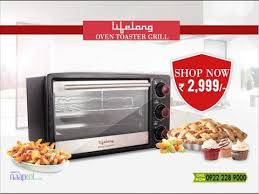 Oven Grill Toaster Lifelong Oven Toaster Griller Youtube