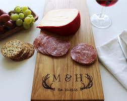 personalized cheese tray cheese board personalized cutting board custom name wedding