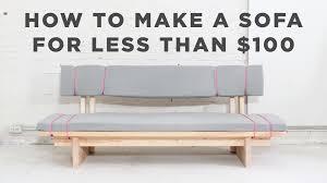 Diy Sofa Bed Make A Sofa Bed Home And Textiles