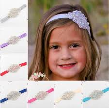 flower girl headbands kids luxury shine diamond headbands flower girl wedding hair