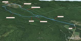Green Circle Trail Map Baldface Knob