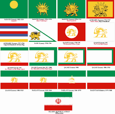 All The State Flags File Timeline Of Persian Flags Jpg Wikimedia Commons