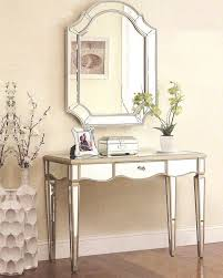 Mirrored Vanity Table 7 Best Mirrored Vanity Tables Images On Pinterest Console Tables