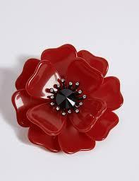 poppy jewellery remembrance enamel brooches u0026 charms m u0026s