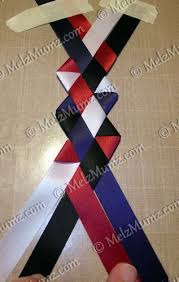 homecoming ribbon how to make a victory braid vintage scrapping