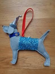 beagle sewn felt jumper tree by misheleneous