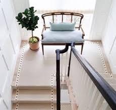 black and white stripe stair runner entryways u0026 hallways