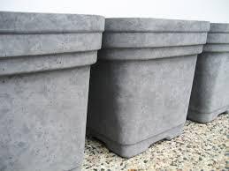 concrete planters download large concrete flower pots solidaria garden
