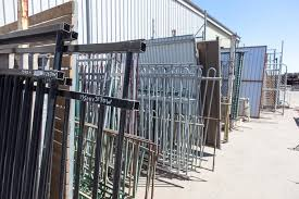 used iron fence for sale for fence gate