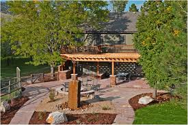 kitchen landscape design for backyard throughout impressive