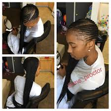 French Braid Hairstyles With Weave One Sided Cornrows U2026 Pinteres U2026