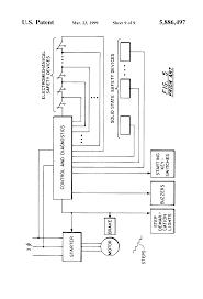 patent us5886497 control arrangement for escalator or moving