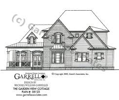 small cabin style house plans garden view cottage house plan house plans by garrell associates