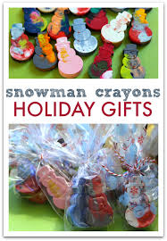 Great Holiday Gifts Diy Snowman Crayons Great Class Holiday Gifts No Time For