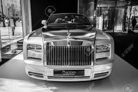 roll royce phantom white berlin march 08 2015 showroom luxury car rolls royce phantom