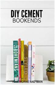 44 cool diy bookends that are easy to make