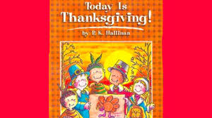 today is thanksgiving book read aloud
