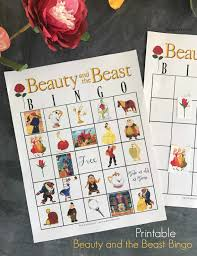 free printable halloween bingo game cards beauty and the beast bingo game free printable bingo games