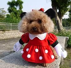 pet costumes nacoco pet clothes pet costume minnie costumes dog clothes cat